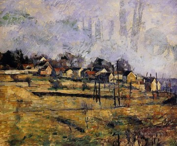 Landscape Paul Cezanne Oil Paintings