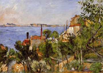 Nature Painting - Landscape Study after Nature Paul Cezanne