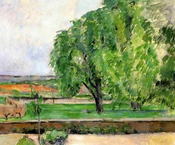 Landscape at the Jas de Bouffin Paul Cezanne Oil Paintings