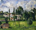 Landscape with Waterline Paul Cezanne