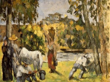 Life in the Fields Paul Cezanne Oil Paintings