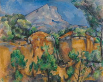 Mont Sainte Victoire 1897 Paul Cezanne Oil Paintings