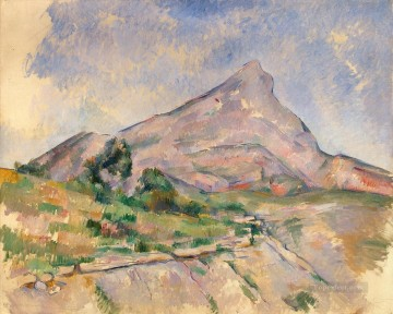 Mont Sainte Victoire 1898 Paul Cezanne Oil Paintings