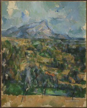 Mont Sainte Victoire 2 Paul Cezanne Oil Paintings