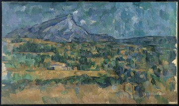 Mont Sainte Victoire 3 Paul Cezanne Oil Paintings
