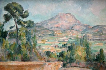 Mont Sainte Victoire 4 Paul Cezanne Oil Paintings