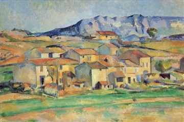 Mont Sainte Victoire Paul Cezanne Oil Paintings