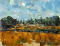 Riverbanks Paul Cezanne