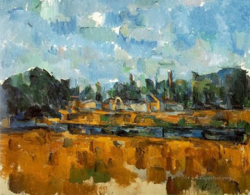 Riverbanks Paul Cezanne Oil Paintings