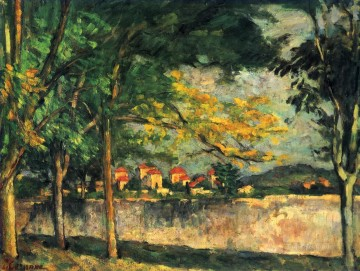 Road Paul Cezanne Oil Paintings