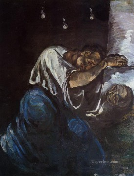 Sorrow Paul Cezanne Oil Paintings