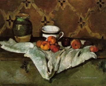 Paul Cezanne Painting - Still Life 1877 Paul Cezanne