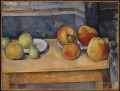 Still Life Apples and Pears Paul Cezanne