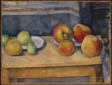 Still Life Apples and Pears Paul Cezanne Oil Paintings