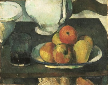 Paul Cezanne Painting - Still Life with Apples 1879 Paul Cezanne