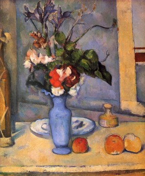 The Blue Vase Paul Cezanne Oil Paintings