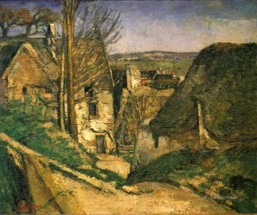 The Hanged Man House in Auvers Paul Cezanne Oil Paintings