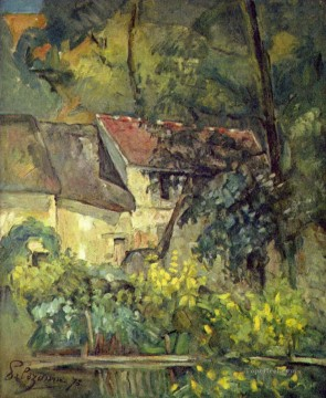 The House of Pere Lacroix in Auvers Paul Cezanne Oil Paintings