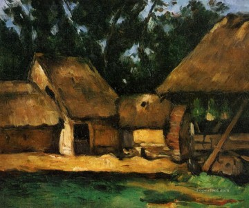 The Oilmill Paul Cezanne Oil Paintings