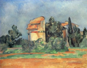 The Pigeon Tower At Bellevue Paul Cezanne Oil Paintings