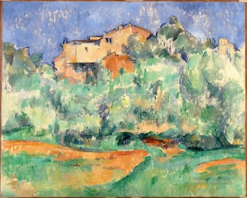 The farm of Bellevue 2 Paul Cezanne Oil Paintings