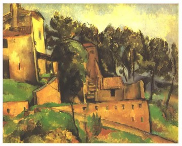 The farm of Bellevue Paul Cezanne Oil Paintings