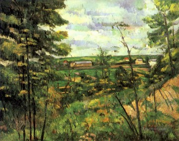 Paul Cezanne Painting - The valley of the Oise Paul Cezanne