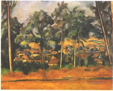 Village in the Provence Paul Cezanne Oil Paintings
