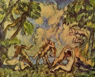 Love Painting - Bacchanalia The Battle of Love Paul Cezanne
