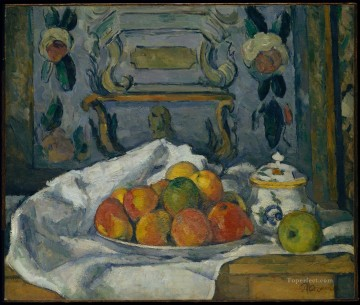 Paul Cezanne Painting - Dish of Apples Paul Cezanne