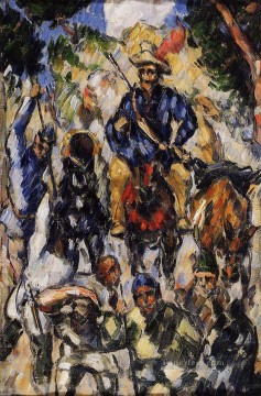 Cezanne Art Painting - Don Quixote View from the Back Paul Cezanne