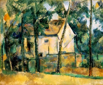 House and Trees Paul Cezanne Oil Paintings