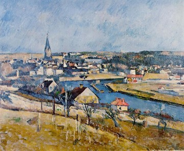 Ile de France Landscape 2 Paul Cezanne Oil Paintings