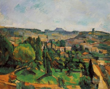 Ile de France Landscape Paul Cezanne Oil Paintings