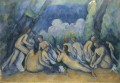 Large Bathers 1900 Paul Cezanne