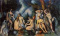 Large Bathers Paul Cezanne