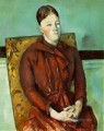 Madame Cezanne in a Yellow Chair Paul Cezanne