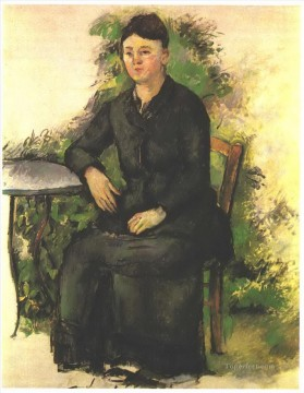 Paul Cezanne Painting - Madame Cezanne in the garden Paul Cezanne