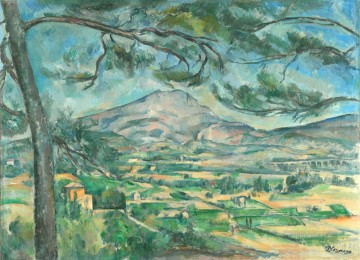 Mont Sainte Victoire 1887 Paul Cezanne Oil Paintings