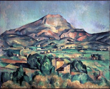 Mont Sainte Victoire 1895 Paul Cezanne Oil Paintings