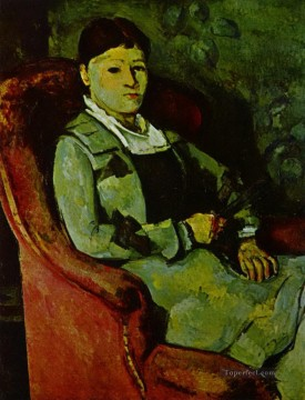 Portrait of Madame Cezanne 2 Paul Cezanne Oil Paintings