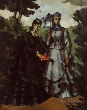 Promenade Paul Cezanne Oil Paintings