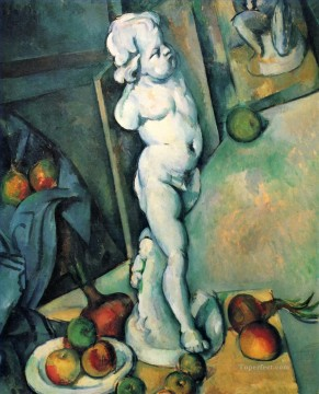 Paul Cezanne Painting - Still Life with Plaster Cupid Paul Cezanne