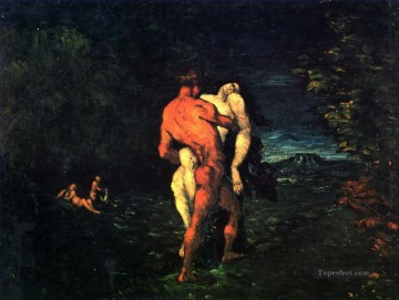 The Abduction Paul Cezanne Oil Paintings
