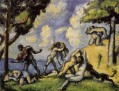 The Battle of Love Paul Cezanne