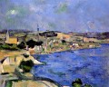 The Bay of lEstaque and Saint Henri Paul Cezanne