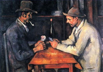 The Card Players 2 Paul Cezanne Oil Paintings