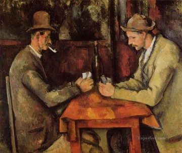 Paul Cezanne Painting - The Card Players Paul Cezanne