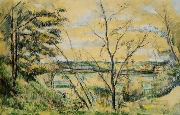 The Oise Valley Paul Cezanne Oil Paintings