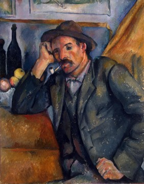 Paul Cezanne Painting - The Smoker Paul Cezanne